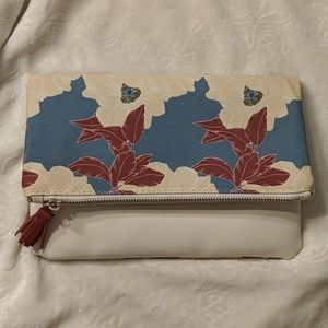 Rachel Paly fold over clutch